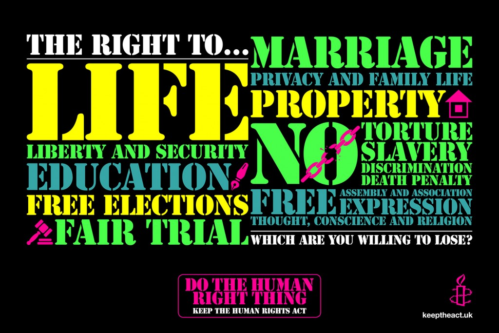 Human Rights Act infographic